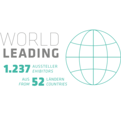 Graphik: World Leading: 1237 Aussteller