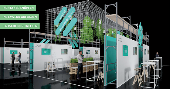 Start-up-Zone glasstec 2020