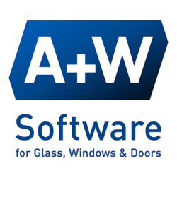 Logo A+W Software for Glass, Windows & Doors