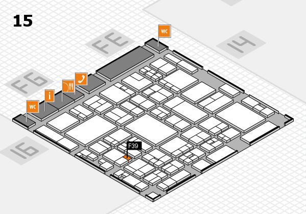 glasstec 2016 hall map (Hall 15): stand F39