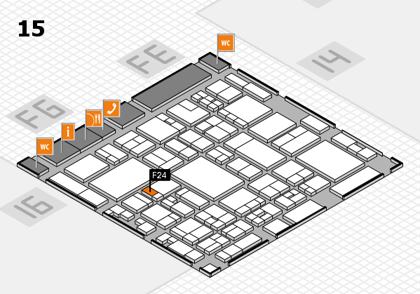 glasstec 2016 hall map (Hall 15): stand F24