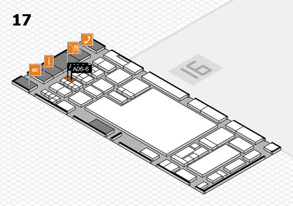 glasstec 2016 hall map (Hall 17): stand A06-6