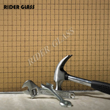 Rider Wired Patterned Glass