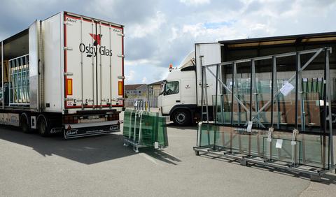 Mit A+W Logistics Optimizer die LKW-Flotte, dieTouren