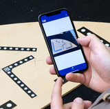 A+W iShape: Digitalize templates with a smartphone camera