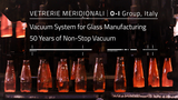 Pneumofore Vacuum for Glass Manufacturing at O-I Group | Vetrerie Meridionali, Italy