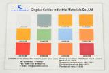 Tempered glass enamel lead free metallic colors
