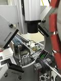 12 sistema di misurazione per capillari in vetro