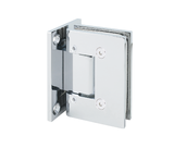 Standard Square – Adjustable Wall to Glass Shower Hinge (Full Back Plate)