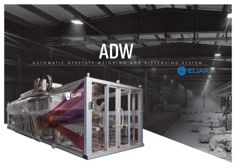 ADW Fully Automatic Powder Dyestuff Weighing, Dissolving and Dispensing System