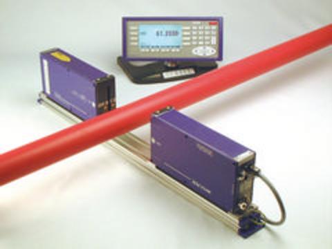 Extruline - Lasersysteme für die Durchmesserkontrolle