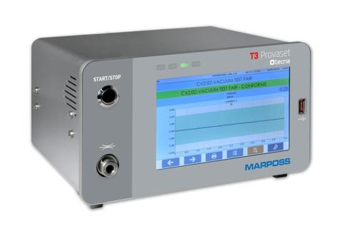 T3 Provaset - Dichtheitsprüfung im Differenzdruckverfahren