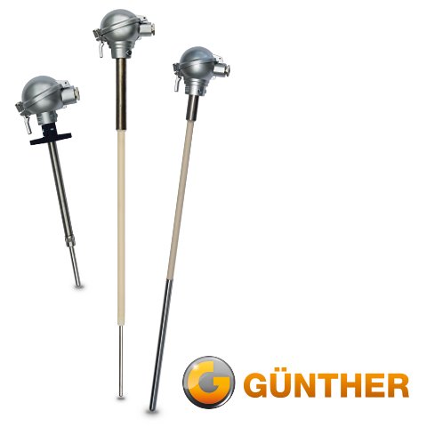 """""""08-TMP"""" - Thermocouples with precious metal protective sleeves"""