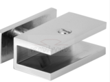 Thru-Glass Square Shelf Clamp