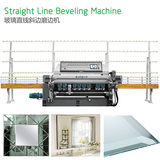 Glass Staight Line Beveling Machine with PLC control