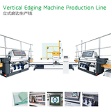 Vertical Glass U Shape Edging Machine Line
