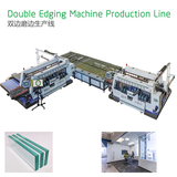 High Speed Glass Double Edging Line SSZM4225