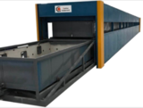 CONTINUOUS GLASS BENDING FURNACE