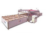 Automatic Silk Architecture Glass Screen Printing Machine For Automobile Side Window Glass