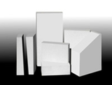 Foam brick with super-low thermal conductivity