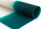 Automobile PVB film for windshield (clear, light blue, light green, color band)