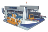 Glass straight line double edging machine - FSBM4222 / FSBM2522