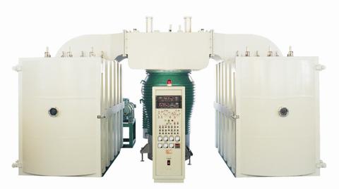 ZZ vacuum al double-room glass coating machine