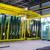 Manual and automated glass storage systems